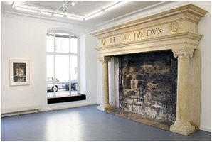 untitled (ducale fireplace_1) by philipp lachenmann
