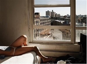 marion on bed by christopher anderson
