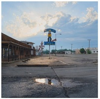 the cow lot / wichita falls, tx by rod penner