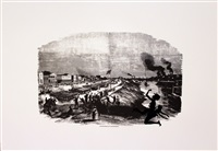 occupation of alexandria (harper's pictorial history of the civil war - annotated) by kara walker
