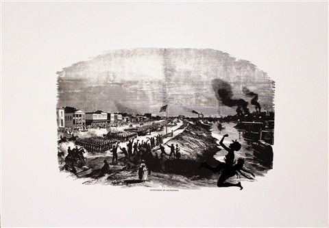 occupation of alexandria harpers pictorial history of the civil war annotated by kara walker