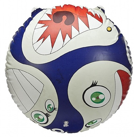 mr dob balloon by takashi murakami