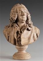 buste de jean-baptiste rousseau (1671 – 1741) by jean-jacques caffieri
