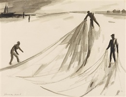 dragging nets by herman maril