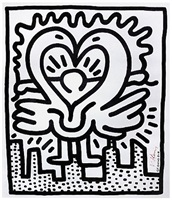 Keith Haring Art Black And White
