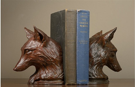 fox bookend by rikki morley saunders
