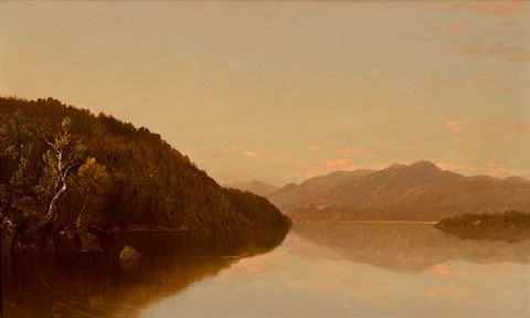 lake george by john frederick kensett