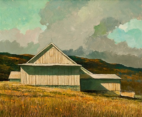 new england barn by eric sloane