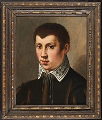 portrait of a boy by michele tosini