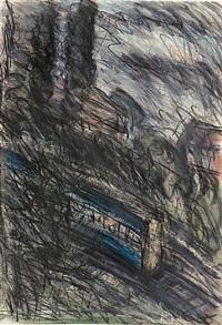 train by night no. 1 by leon kossoff
