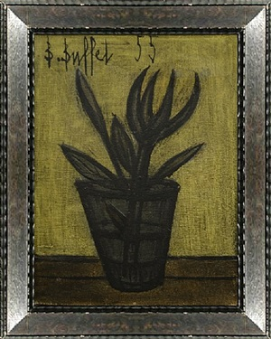 petit flower by bernard buffet