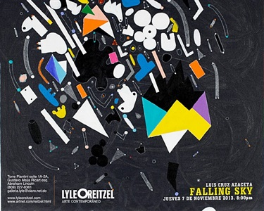 luis cruz azaceta: the falling sky