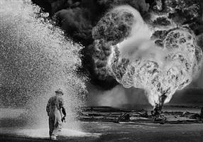 greater burhan oil field, kuwait by sebastião salgado