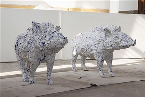 boar (staying) by carl emanuel wolff