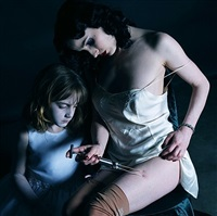 the golden age (mother 2) by gottfried helnwein