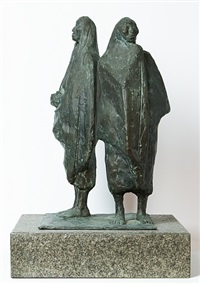 untitled (two women) by francisco zúñiga