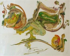 porträt der regenspuren by vangel naumovski