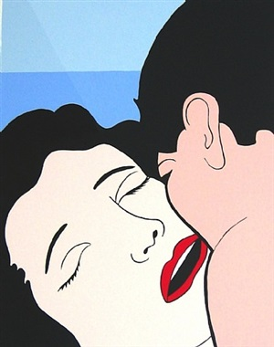 red lips by john wesley