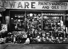 hardware store by berenice abbott