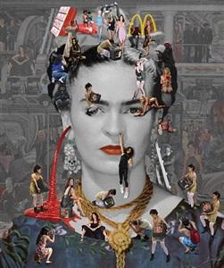 self portrait - frida kahlo by lluis barba