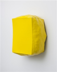 burst (yellow) by angela de la cruz
