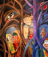 ensor's forest by gene cooper