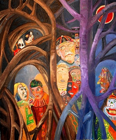 ensor's forest by gene cooper