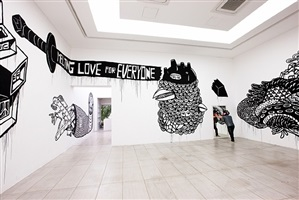 installation view by eko nugroho