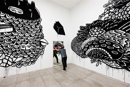 installation view by eko nugroho