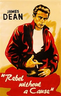 james dean rebel without a cause by steve kaufman