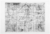 pyramid in space by richard pousette-dart