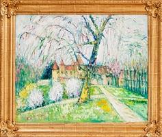 l'arbre devant a chateau by yolande ardissone