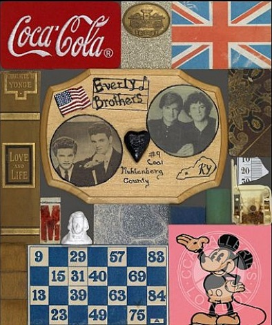 wooden puzzle series- everly brothers by peter blake