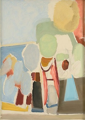 sky & sea by ivon hitchens