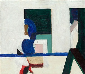 the visit by howard hodgkin