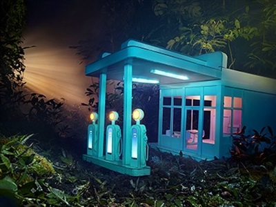david lachapelle gas stations by david lachapelle