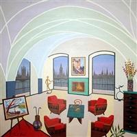 interior with vlaminck by fanch ledan