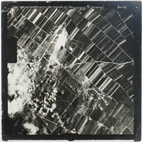 aerial incendiary bombs dropping on european sites: memmingen, germany by anonymous