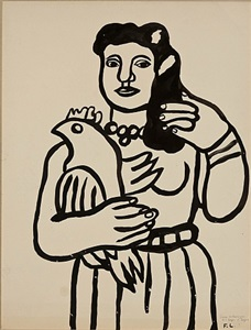 the modern muse paintings, drawings and sculpture by twentieth-century masters by fernand léger