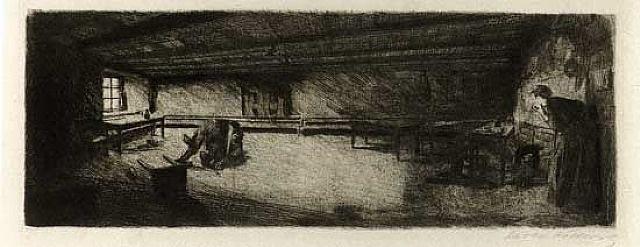 scene from germinal by käthe kollwitz