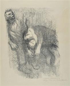 death in the water by käthe kollwitz