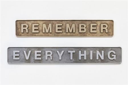 remember everything 40 years galerie max hetzler oudenarder str. by darren almond