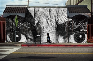the wrinkles of the city los angeles, jim budman, venice, usa by jr
