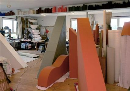 studio fulda, oct 2013 by franz erhard walther