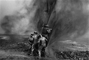 greater burhan oil field, kuwait by sebastião salgado