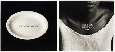 c rations by lorna simpson