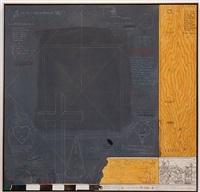 d.e & the blackboard boys by william t. wiley