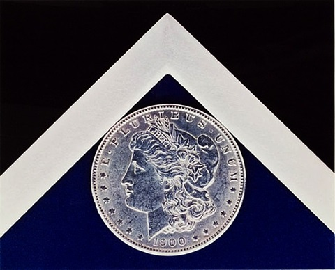silver dollar by robert mapplethorpe