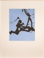 gesture iii by robert motherwell