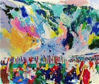 aspen mountain rendezous by leroy neiman